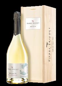 Champagne Pierre Trichet L'Héritage Blanc de blancs MAGNUM in houten kistje